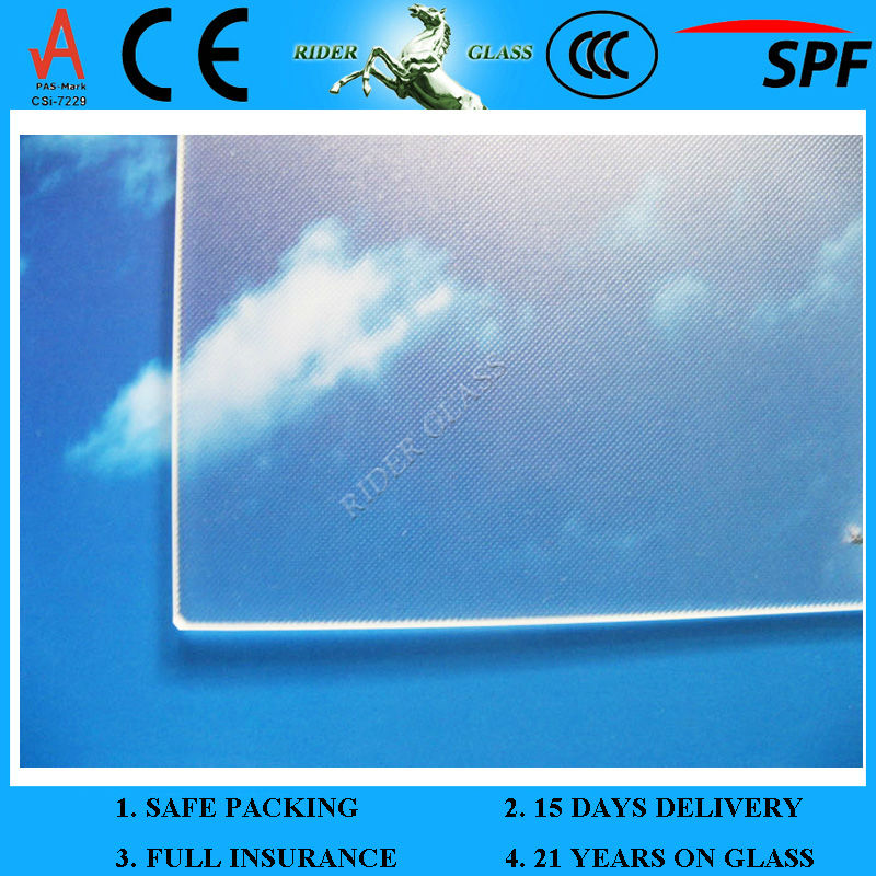 3.2mm SPF and CE Solar Panel Glass Manufacturer