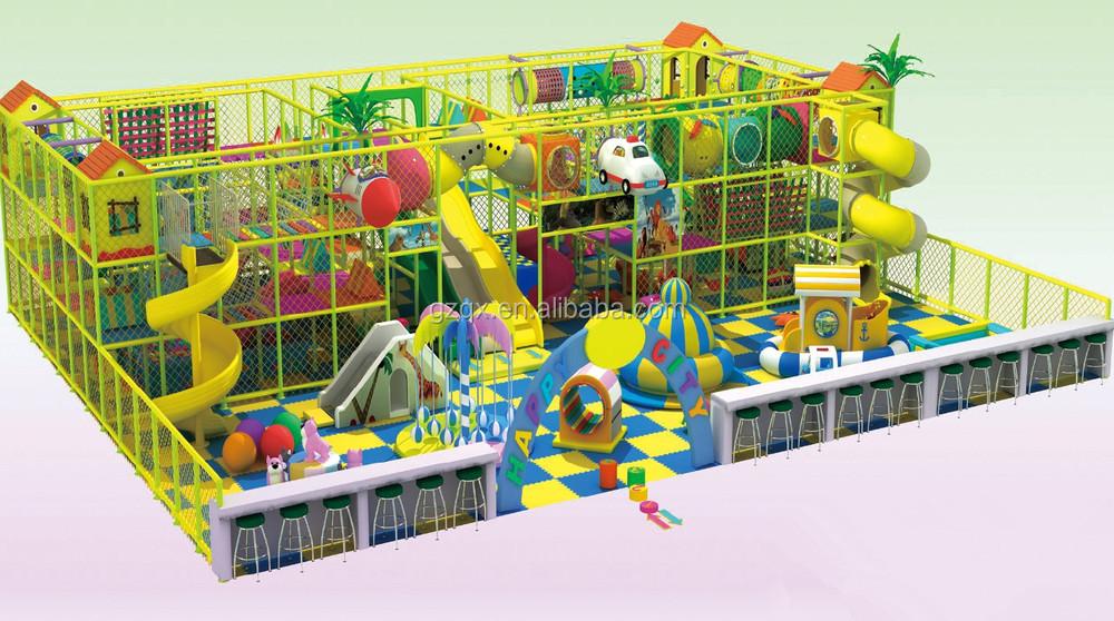 Pink Color Series Children Indoor Play Sets/ Childrens Indoor Play ...