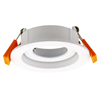 Adjustable LED Downlight Module Mounting Rings with Cut Out 70mm