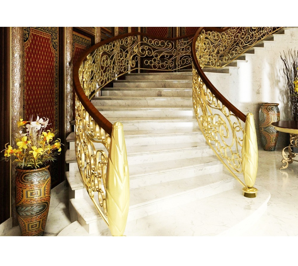 Gold Color Stair Handrail Wholesale, Stair Handrail Suppliers - Alibaba