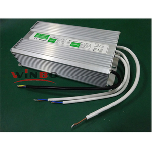 3 years warranty IP67 waterproof led transformer 100W 150W 200W 250W 12V 24V led driver with CE ROHS