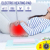 Large size 6 temperature levels to adjuest electric body heating pad