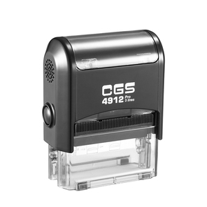 CGS 4912 Rubber Stamp (Size:47x18mm BLACK BODY)