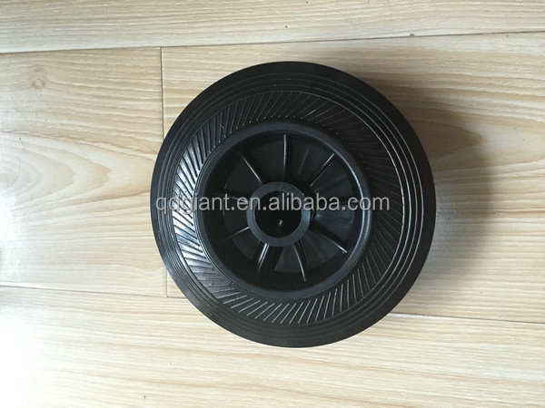6inch pu material Waste bin wheels