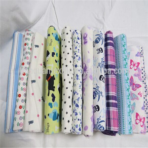 Trade assurance one side cotton brushed calico flannel fabric from hebei factory