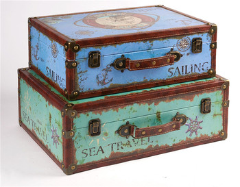 New Classic Antique Style Diy Decorative Wooden Storage Suitcase   Buy  Classic Suitcase,New Classic Suitcase,Antique Style Wooden Suitcase Product  On ...