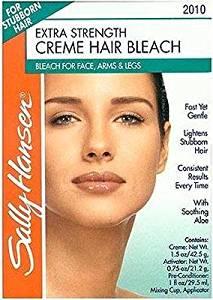Sally Hansen Creme Hair Bleach Extra Strength For Face & Body (6 Pack)