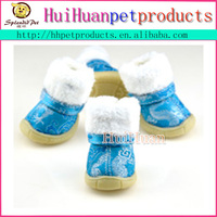 China wholesale pet products snow boot for dogs