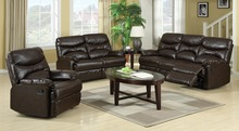 New Style living room leather sofa \1+2+3 seaters recliner sofa set ZOY 9149A