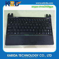 High quality US notebook keyboard for Asus EeePC EPC X101 X101H X101CH laptop keyboard with palmest touchpad