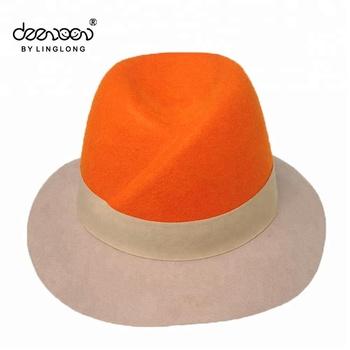 Woolen Flower Decoration Winter Church Hat Fashion Hat Custom Hat ... 80cd0597571