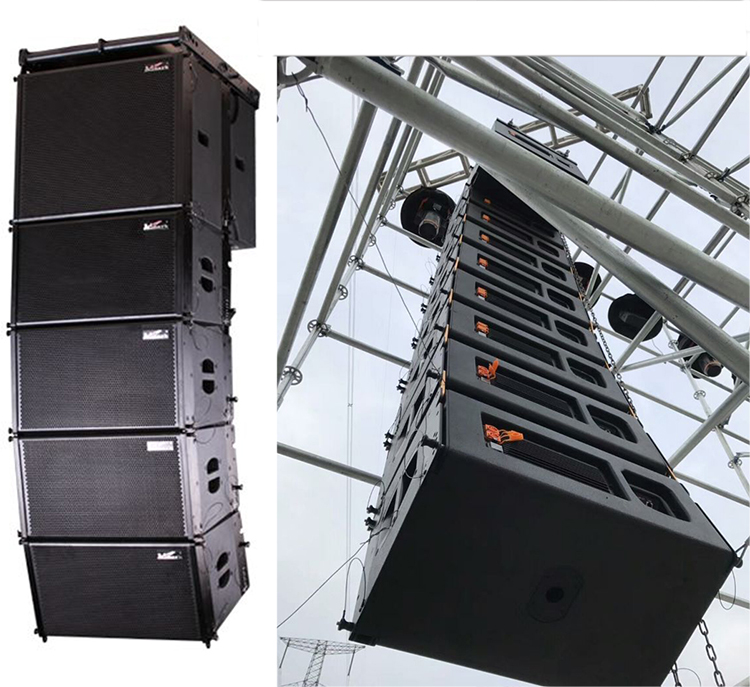 Admark active DSP line array speaker A3+&A3sub waterproof