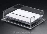 Exquisite clear a4 acrylic paper box for office A4 copy