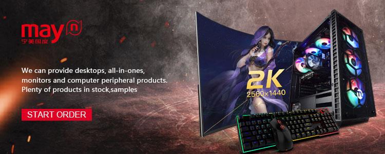 Ningmei OEM barato Intel G5400 RX 580 de 480G SSD 16G Ordenador de juegos de PC de escritorio