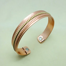 alibaba website copper bangle anti-static magnetic bracelet health bangle for older people can prevent pain