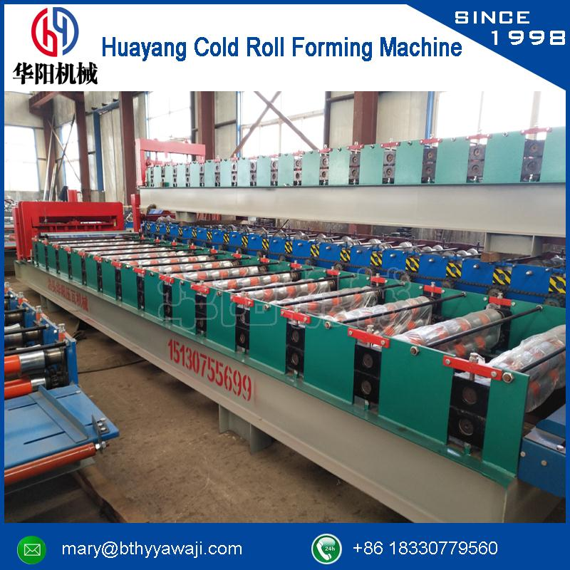 glaze straw roof tile forming machine for Ceiling Grid