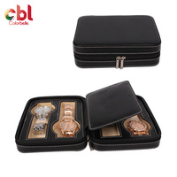 Custom LOGO wholesale luxury gift genuine leather watch case, watch packaging box