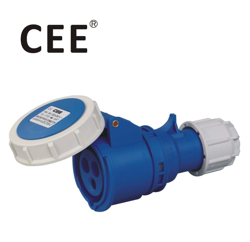 CEE IEC IP67 32 amps industrial socket industrial plug and socket 16a 3 pin
