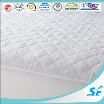 Waterproof Fabric Bamboo Bed Sheets Round Mattress Protector Hotel  Alternative Mattress Protector