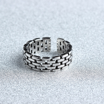 Ring 925 Sterling Silver Antique