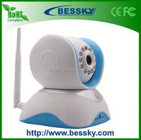 Support TF Card(Max 64GB) 1.0MP P2P casio exilim camera + PIR function ( Bessky factory )