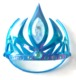 factory hot sale Elsa Anna rhinestone tiara crown
