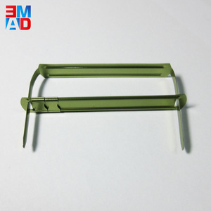 8CM office desktop metal file u clip paper fastener for paper binding