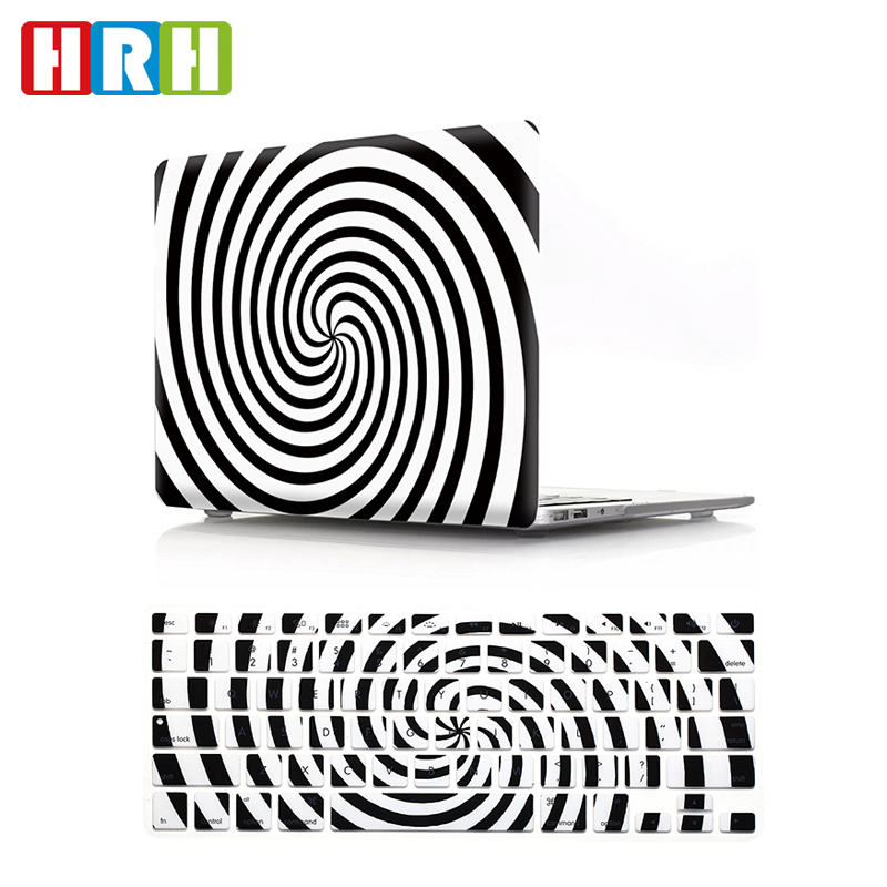 New White Brains Design Prints Rubberized Hard Case KB Cover For Macbook Pro Air