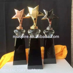 China good supplier best-selling crystal glass award trophy cup