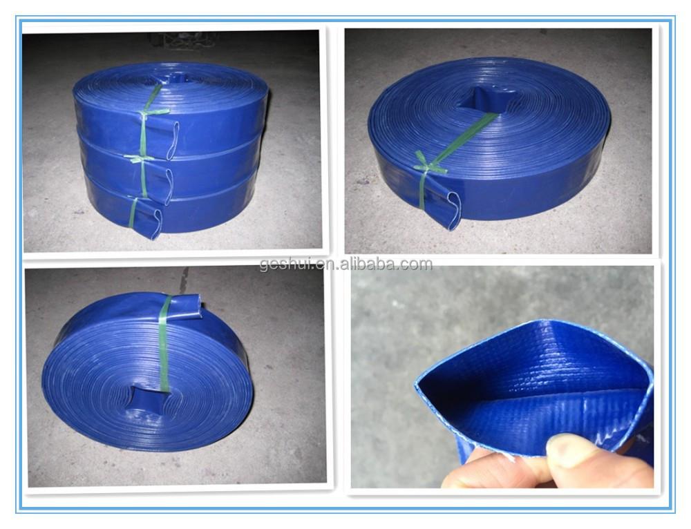 Heavy duty layflat tubo dell 39 acqua tubo di plastica id for Tubo di plastica dell acqua pex