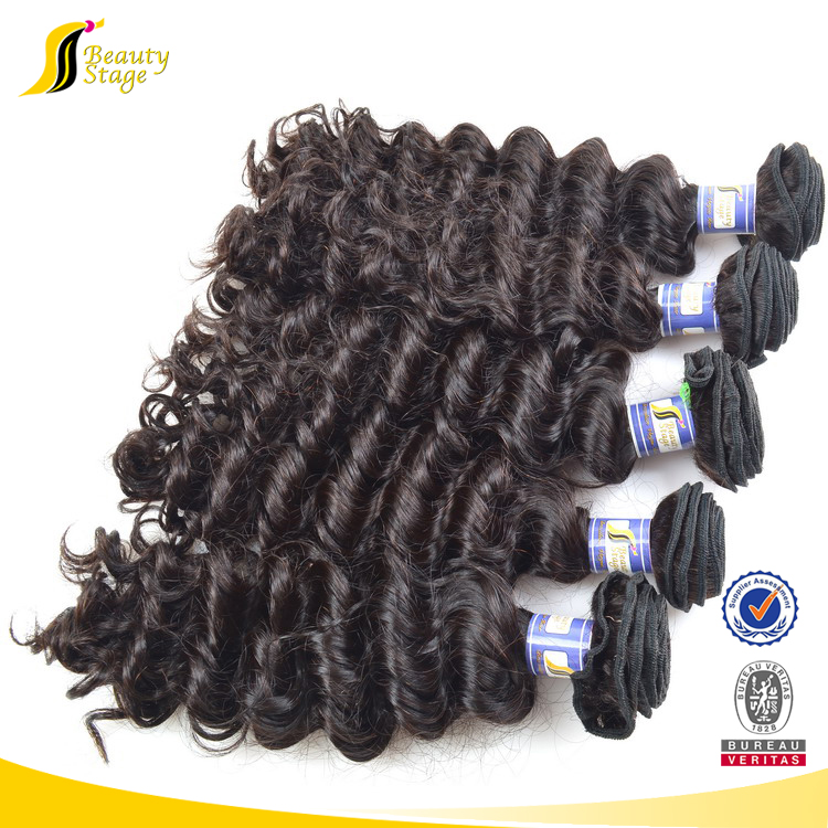 Most popular more cheaper 6A grade soft kinky hair weave pictures, three tone hair weave color 1b 30