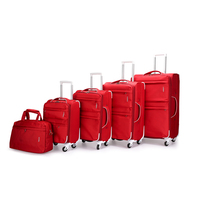 high quality durable carry on us polo trolley bag luggage sets