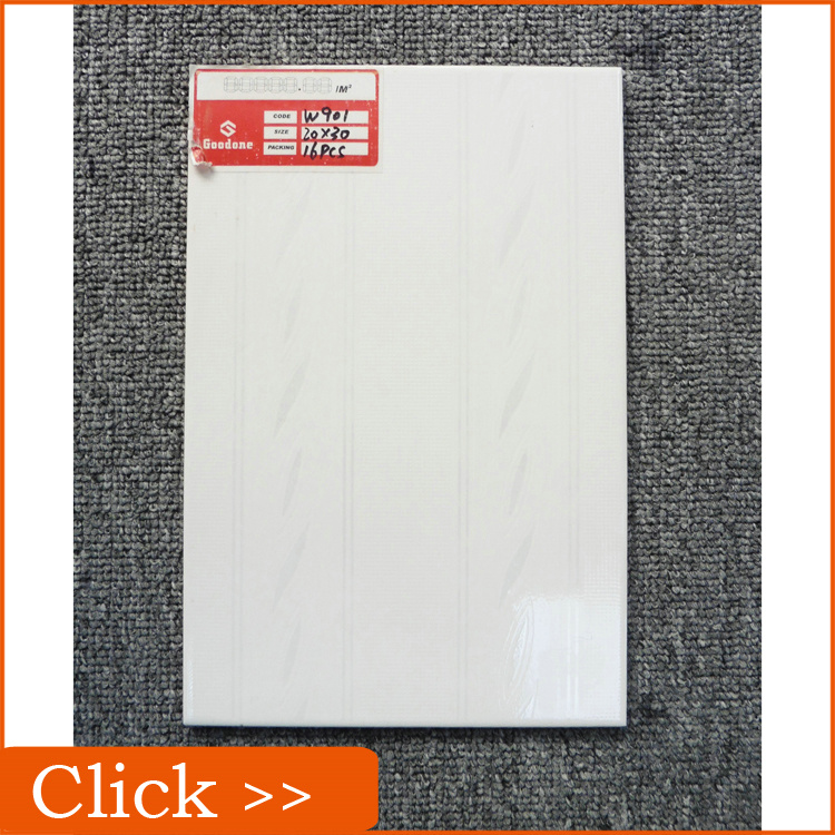 Cheapest White Wall Ceramic Tile Specification 200x300MM