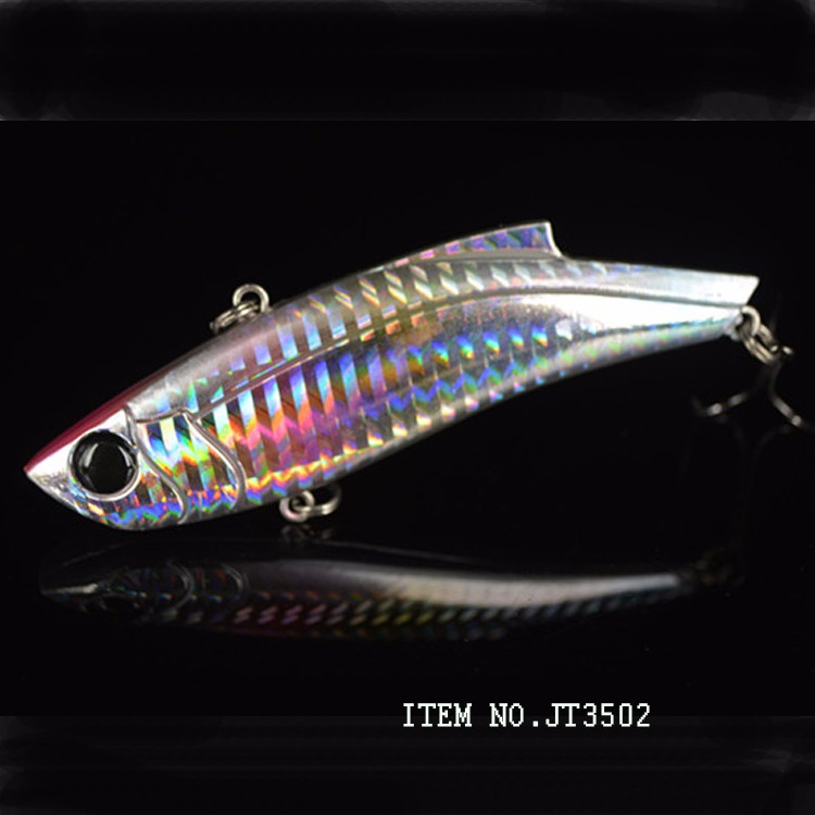 90mm / 35g hard plastic vibrating fish lure with 3D eyes