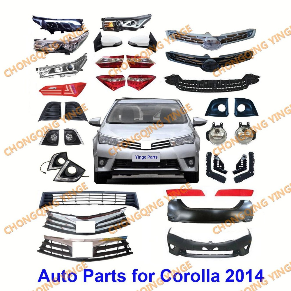 Toyota Truck Aftermarket Parts: Wholesale Factory Price Auto Spare Parts For Toyota