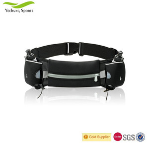 Waterproof Waist Bag Race Belt for Unisex Fit for Outdoor Activities with Fully Adjustable Elastic Strap