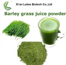 2017 hot sale instant organic wheat/barley grass juice powder for health drink