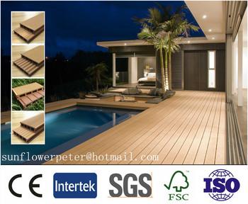 Groothandel prijs wpc decking hout kunststof composiet