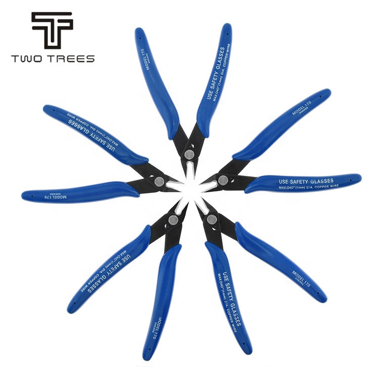 Diagonal Pliers Electrical Wire Cable Cutter Cutting Side Snips Flush Pliers Hand Tools cutting pliers