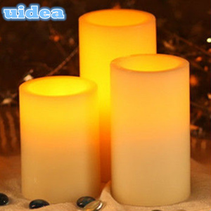 Pillar Flicker Battery Operated LED Wax Candle Light