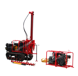 Water drilling machine for drilling Rock with Air compressor