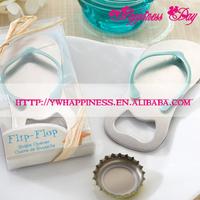 Beach Themed Flip Flop Wine Bottle Opener Wedding Gift Favors