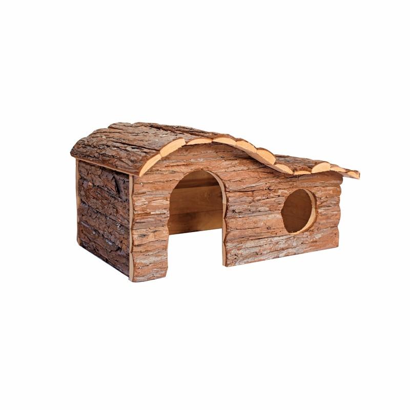 pequeo de madera casa de hmster