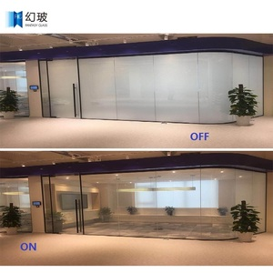Manufacture design dimming electrically switchable smart glass