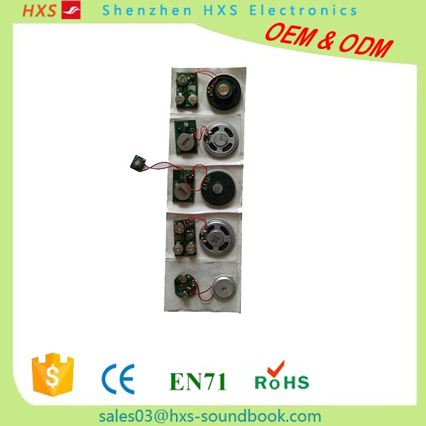 Programmable Customer Music Birthday Card Sound Module