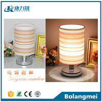 Newest modern led table lamp with wooden base led night light