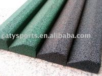 Recycled Rubber Dam(fence,Block) Use In Artificial Grass