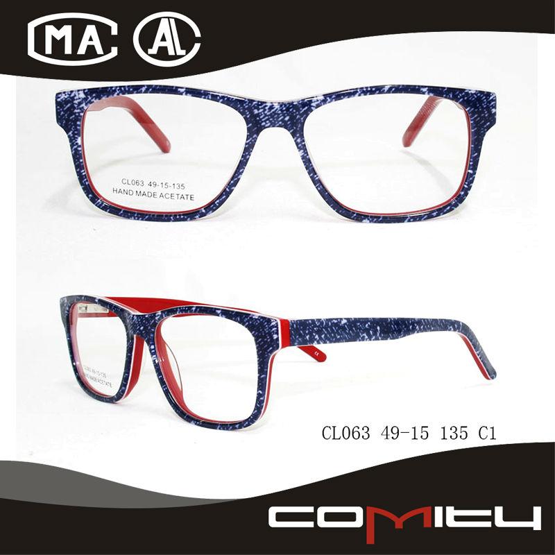 De moda hecha en china los anteojos marcos ópticos con buena calidad ...