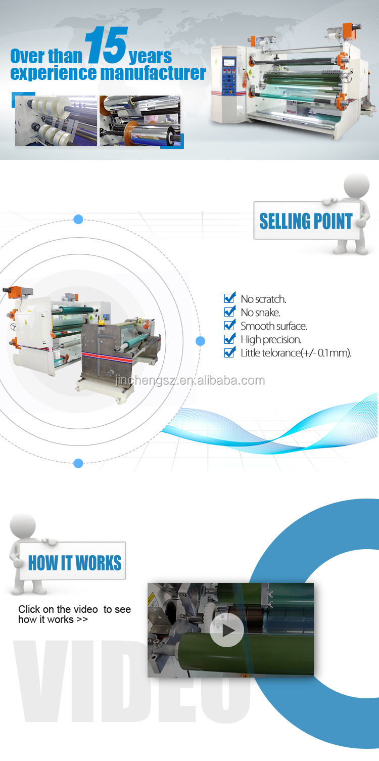 Automatic film rolls double-sided laminating machine