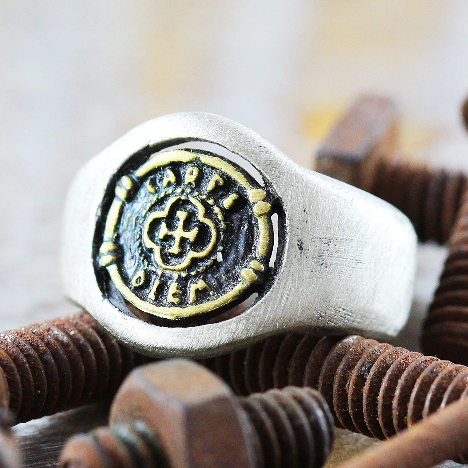 8ea1dceb132bf Cheap Gold Mens Signet Rings, find Gold Mens Signet Rings deals on ...